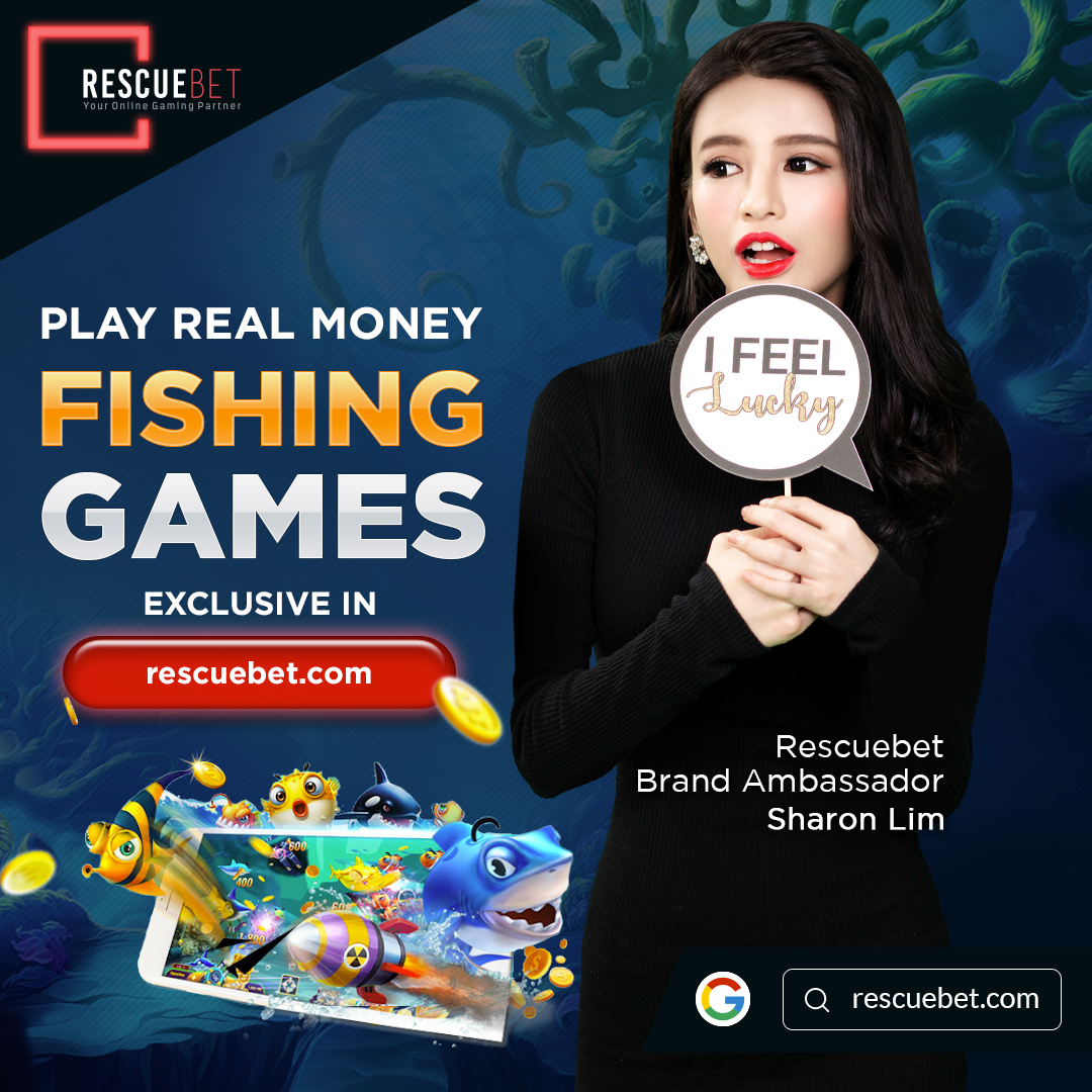 Sharon Lim Promoting Rescuebet Fishing Games