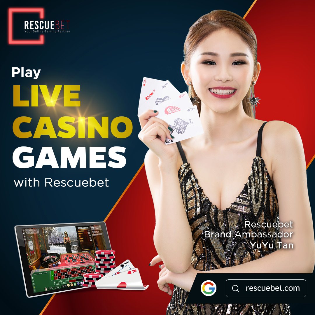 Yuyu Tan Promoting Rescuebet Live Casino