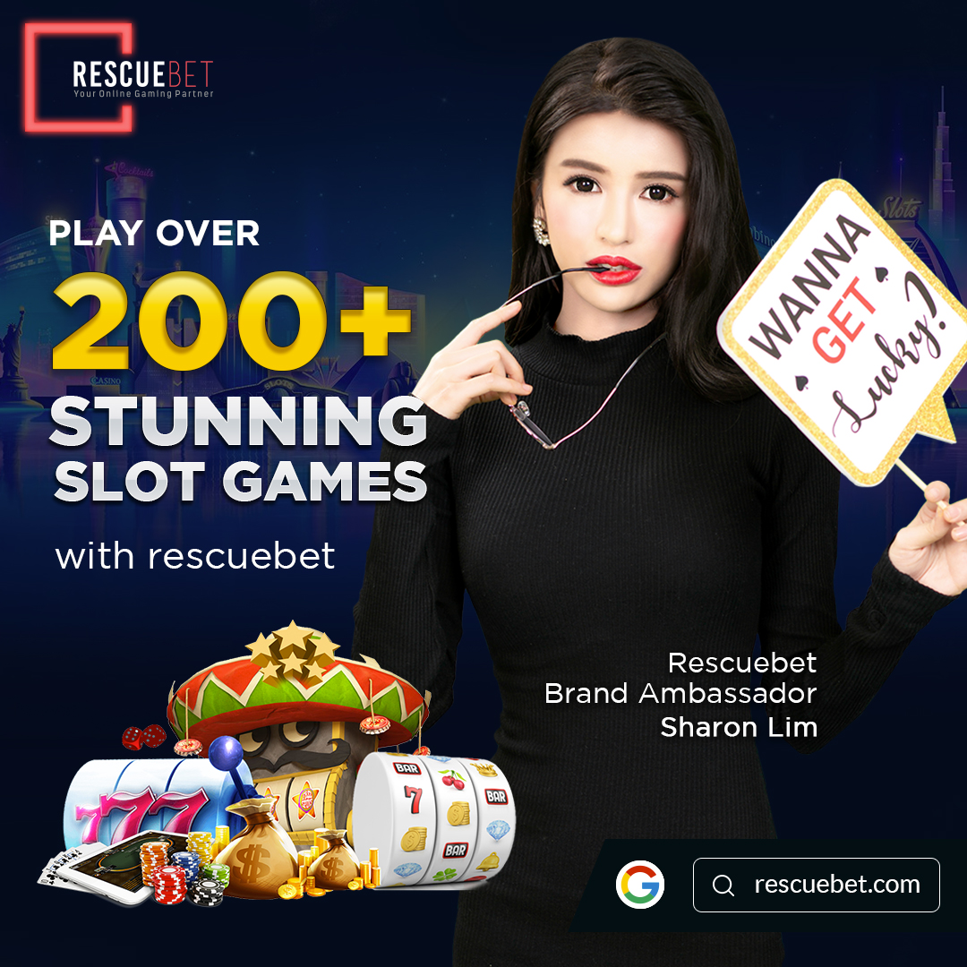 Sharon Lim Promoting Rescuebet Online Slot Games