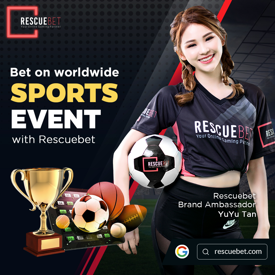 Yuyu Tan Promoting Rescuebet Sports Betting