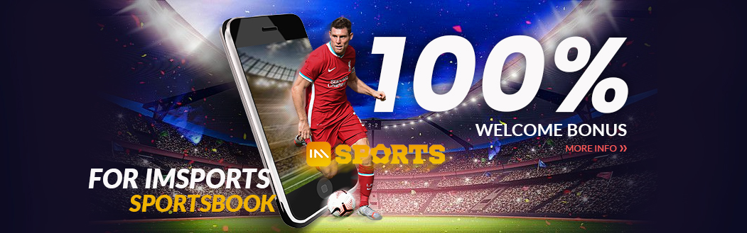 IMsports 100% Welcome Bonus