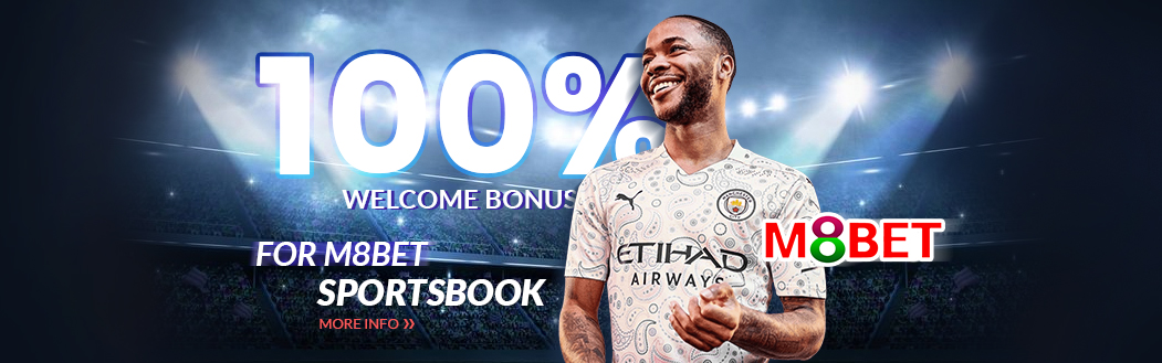M8bet 100% Welcome Bonus