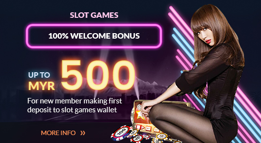 Slot Games 100% Welcome Bonus