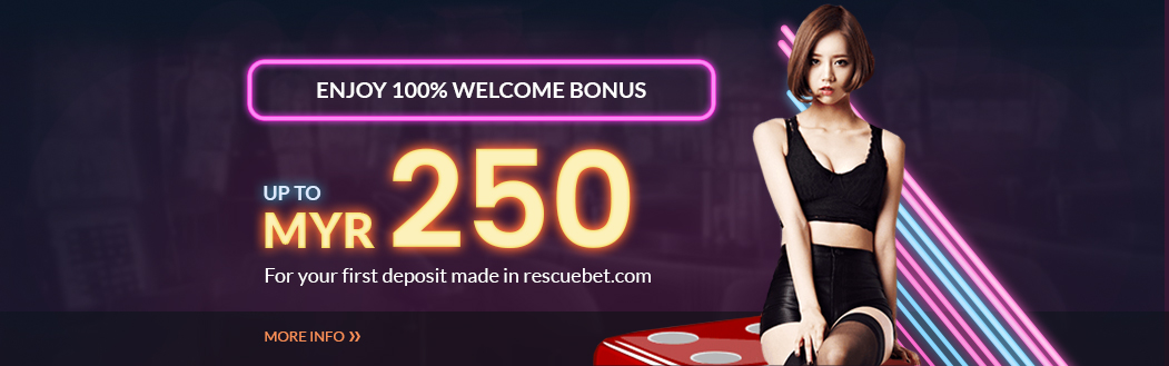 100% Welcome Bonus Up To MYR250