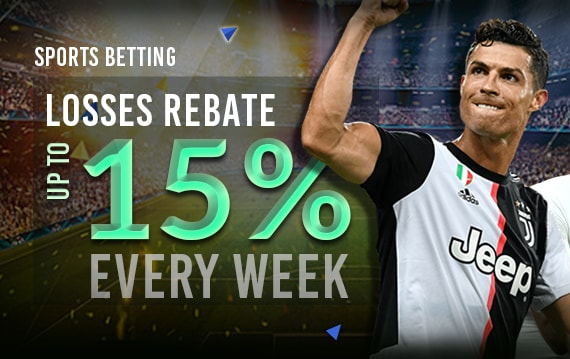 Sports Betting 15% Rescue Bet